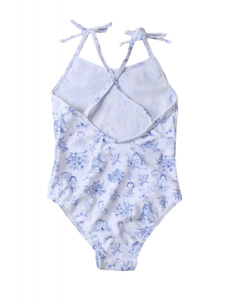Cute Print Toddler Girls Maillot Swimwear